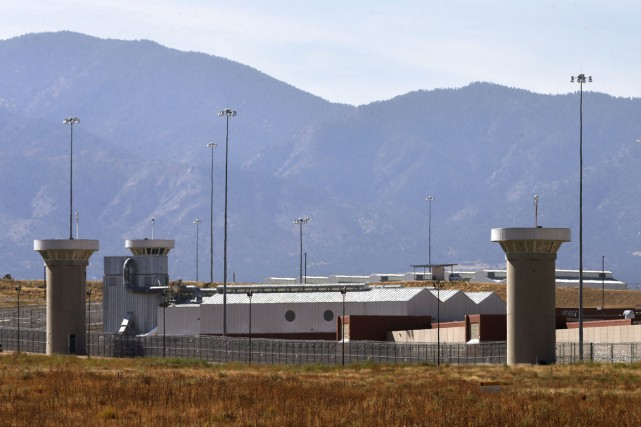 La prison Supermax à Florence, au Colorado, surnommée... (Photo Brennan Linsley, AP)