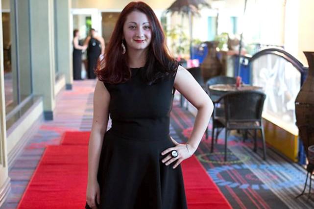 Katherine Tessier, récipiendaire du prix en 2014 soutient... (Tirée de Facebook)