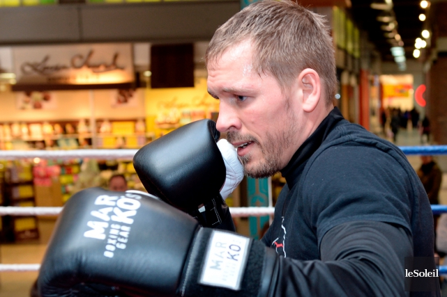 Le boxeur de Saint-Émile a démoli méthodiquement le... (Photothèque Le Soleil)