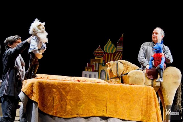 Au Théâtre d'Aujourd'hui jusqu'au 21 novembre.... (Photo Alain Roberge, La Presse)