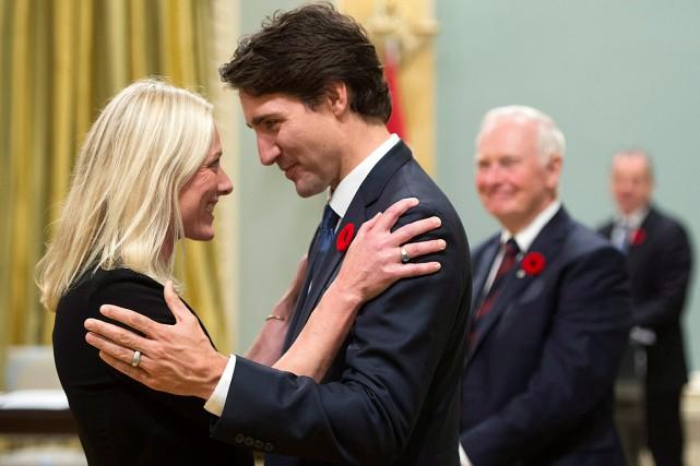 La ministre fédérale de l'Environnement et du Changement... (Photo Sean Kilpatrick, archives PC)