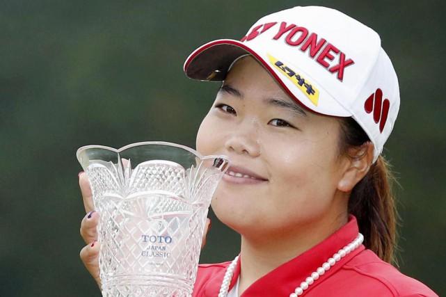 Sun-ju Ahn... (Photo Naoya Osato, AP)
