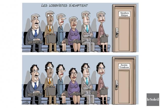 Caricature du lundi 9 novembre 2015... (Le Soleil, André-Philippe Côté)
