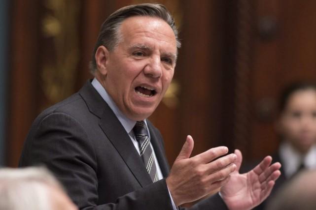 François Legault rejette l'idée que ses demandes pour... (Archives La Presse Canadienne)