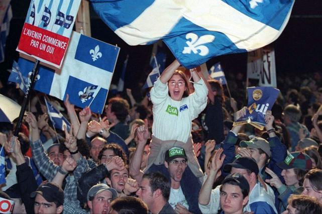 «Le 30octobre, par médias interposés, les Québécois se... (Archives La Presse Canadienne)