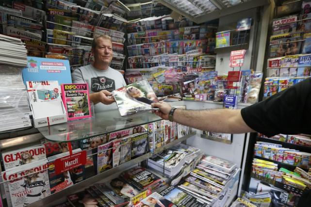 La presse magazine subit aussi en recul quasi... (PHOTO AP)