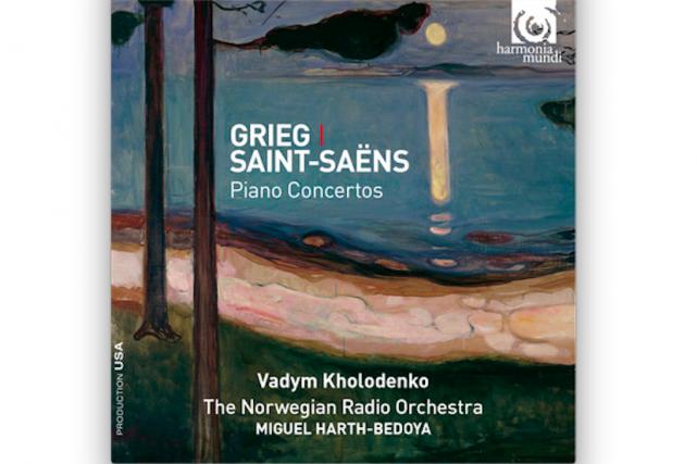 Grieg et Saint-Saëns- Concertos pour piano Vadym Kholodenko...