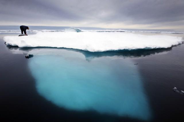 Au train où vala fonte des glaces auGroenland,la... (AP)