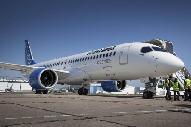 Le transporteur national de la Lettonie, airBaltic, a... (Fournie par Bombardier)