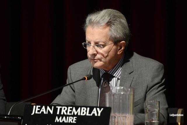 Le maire de Saguenay, Jean Tremblay, ne compte... (Archives Le Quotidien)