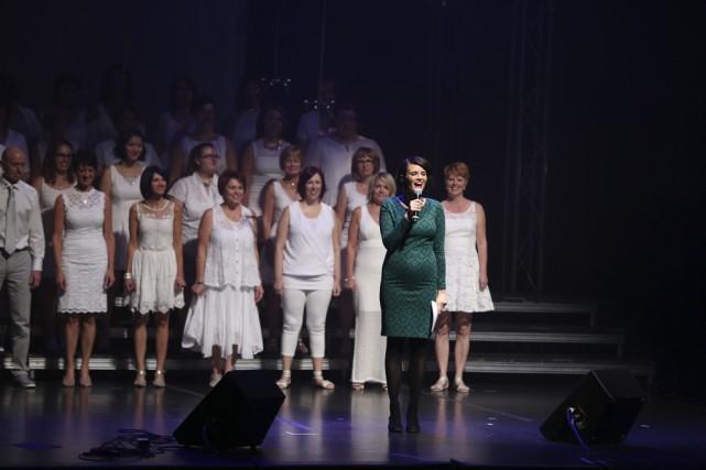 Musicophonie a fait un retour sur scène sous... (photo Catherine Trudeau)