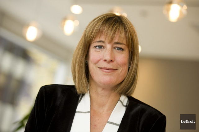 Debi Daviau, la présidente de l'IPFPC, se réjouit... (Photo archives Le Droit)