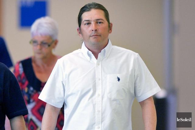 Nicolas Lacroix, accusé de l'homicide involontaire du petit... (Photothèque Le Soleil, Yan Doublet)
