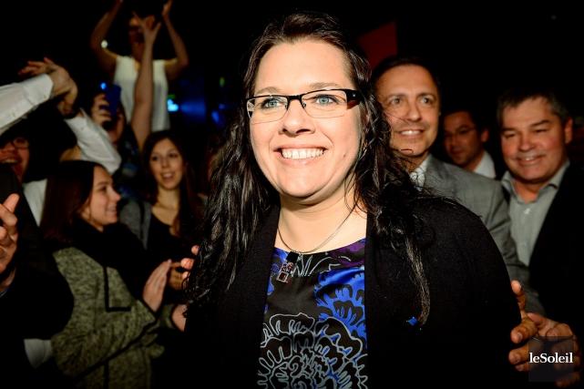 La députée libérale de Charlevoix-Côte-de-Beaupré, Caroline Simard... (Photothèque Le Soleil, Erick Labbé)