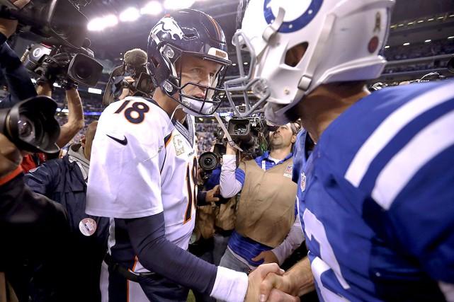 Peyton Manning, qui a probablement disputé son dernier... (AP)