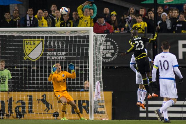 Kei Kamara (23) a procuré la victoire au... (Photo Trevor Ruszkowski, USA Today)