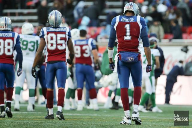 La saison des Alouettes a pris fin dimanche... (Photo Robert Skinner, La Presse)