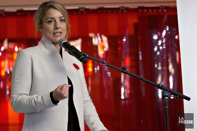 Sur son compte Twitter, la ministre Joly a... (PHOTO OLIVIER JEAN, ARCHIVES LA PRESSE)