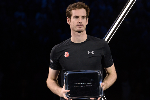 Andy Murray s'est incliné en finale du Masters... (Photo Miguel Medina, AFP)