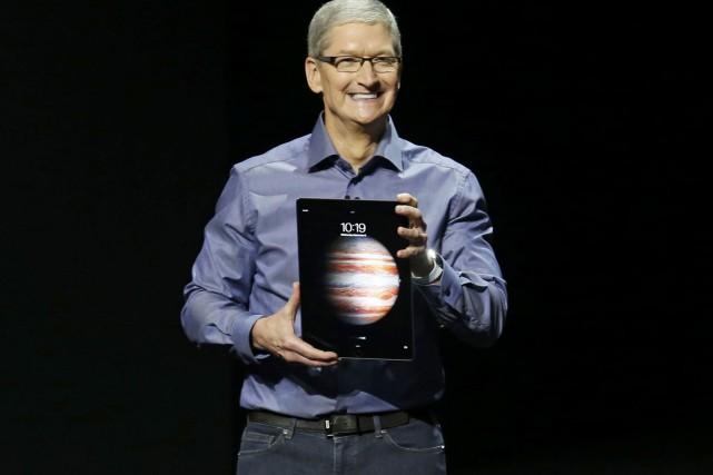 L'iPad Pro sera disponible en ligne dès mercredi... (PHOTO ARCHIVES REUTERS)