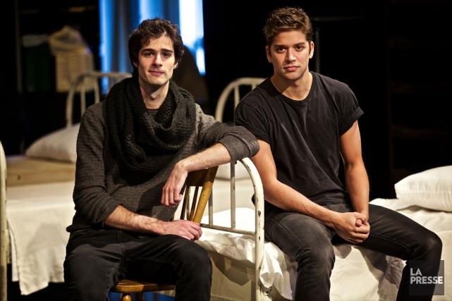 Simon Beaulé-Bulman et Mikhaïl Ahooja... (PHOTO ANDRÉ PICHETTE, LA PRESSE)