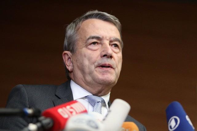 Selon Wolfgang Niersbach, les 6,7millions d'euros versés à... (PHOTO DANIEL ROLAND, AGENCE FRANCE-PRESSE)