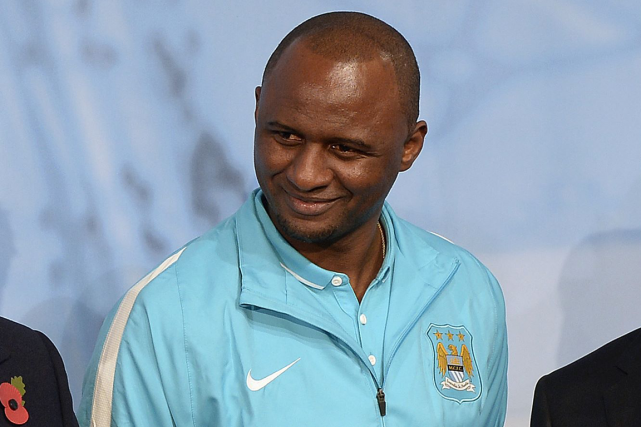 Patrick Vieira... (Photo Joe Giddens, AFP)
