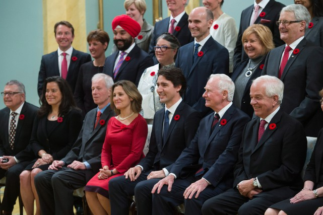 «Le premier ministre a accru la taille de... (PHOTOSEAN KILPATRICK, LA PRESSE CANADIENNE)