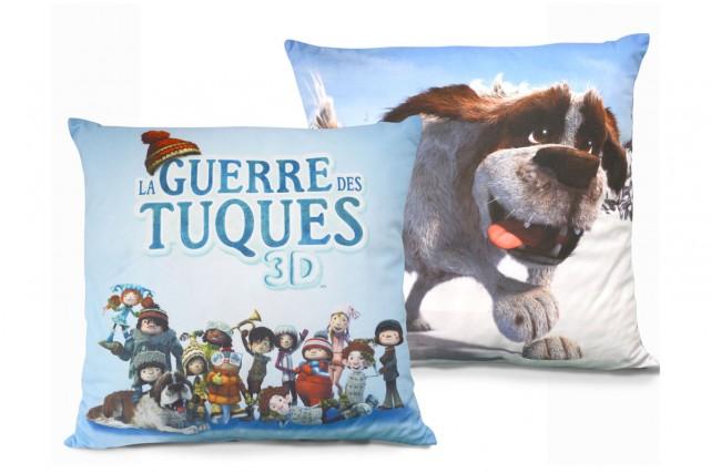 Les coussins La guerre des tuques 3D....