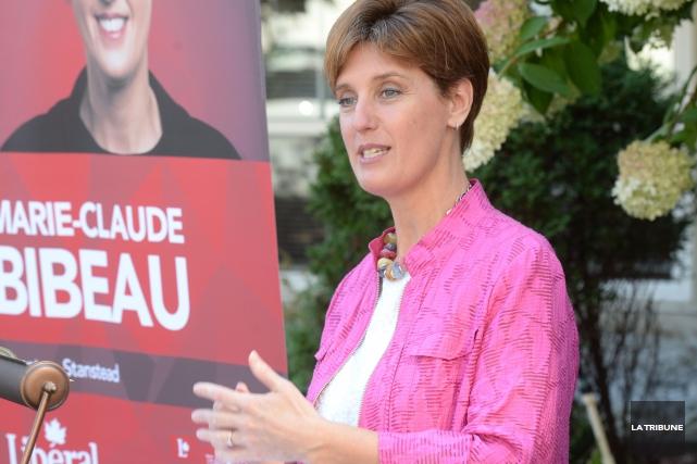 Marie-Claude Bibeau... (Archives La Tribune, Maxime Picard)