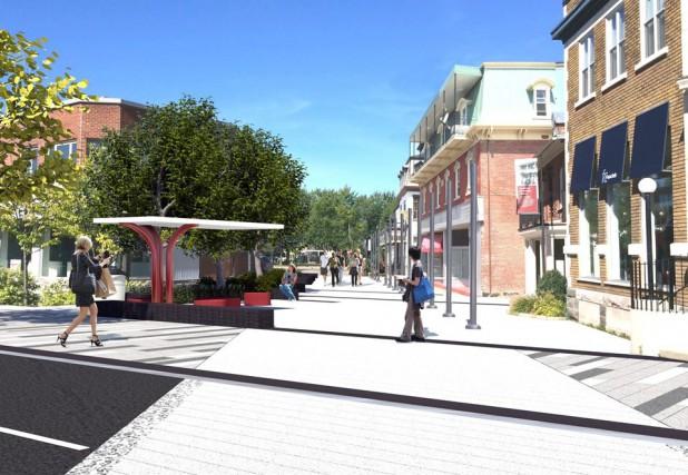 La Ville de Victoriaville a annoncé des travaux évalués à 8 millions $ le... (Photo fournie)