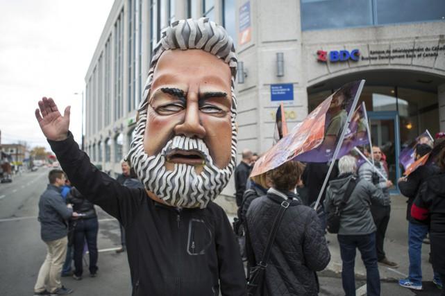Manifestation du front commun.... (Olivier Croteau)