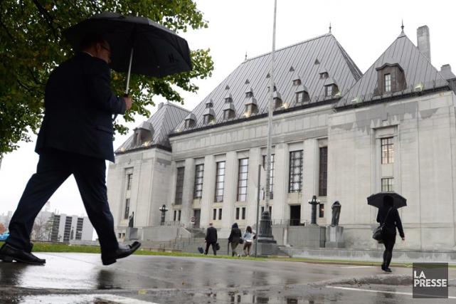 La Cour suprême du Canada.... (ARCHIVES PC)
