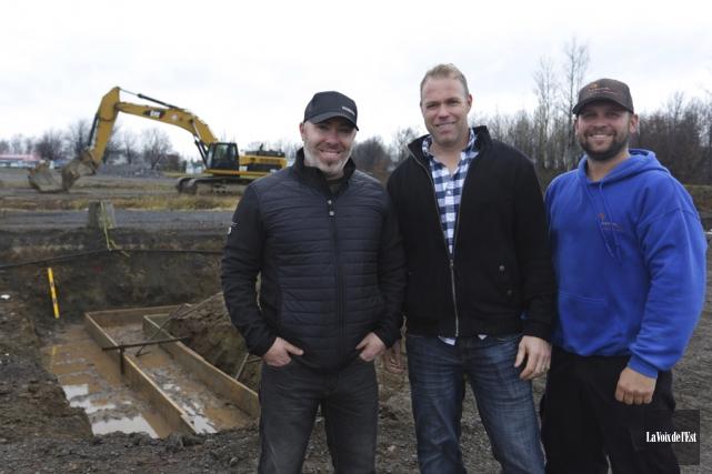 Nouvelle phase d'expansion au centre de hockey balle... (Catherine Trudeau, La Voix de l'Est)