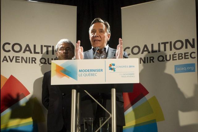 ÉDITORIAL / Avec son projet de nouvelle entente Canada-Québec, qui prévoit le... (La Presse Canadienne)