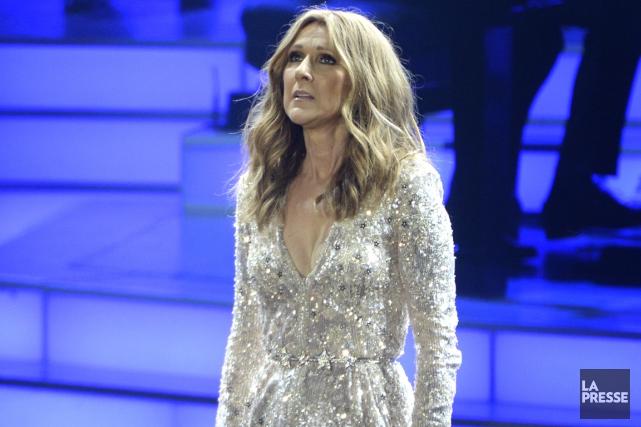 Celine Dion... (La Presse)
