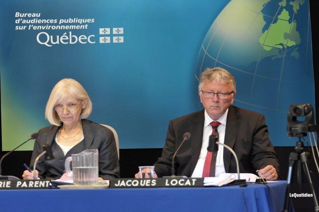 Le rapport du Bureau d'audiences publiques sur l'environnement (BAPE) sur le... (Archives Le Quotidien, Rocket Lavoie)