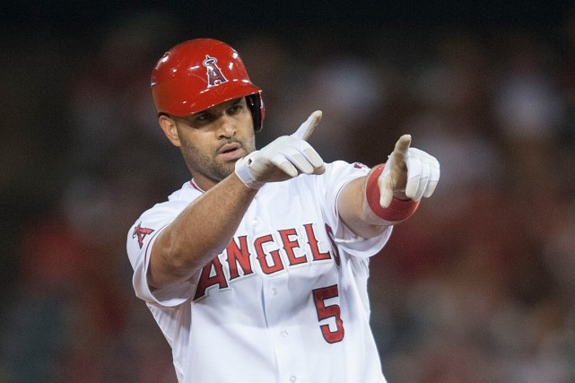 Albert Pujols... (PHOTO ARCHIVES ASSOCIATED PRESS)