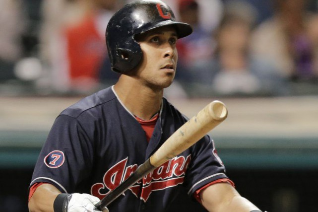 Michael Brantley... (PHOTO TONY DEJAK, ARCHIVES AP)