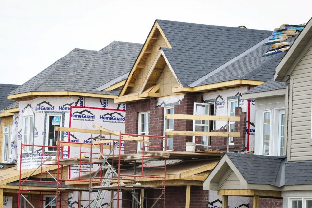 À Ottawa, 5398 unités d'habitations ont été mises... (Patrick Woodbury, Archives LeDroit)