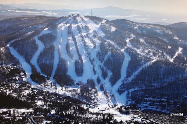 Bromont, montagne d'expériences (photo) vient de créer un... (archives La Voix de l'Est)