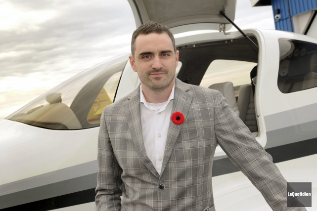 L'entreprise Harvey Aviation Services, lancée par l'homme d'affaires... (Photo Le Quotidien, Mariane L. St-Gelais)