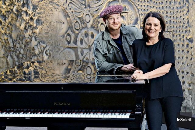 Yann Perreau etMarie-Thérèse Fortin... (Photothèque Le Soleil, Patrice Laroche)