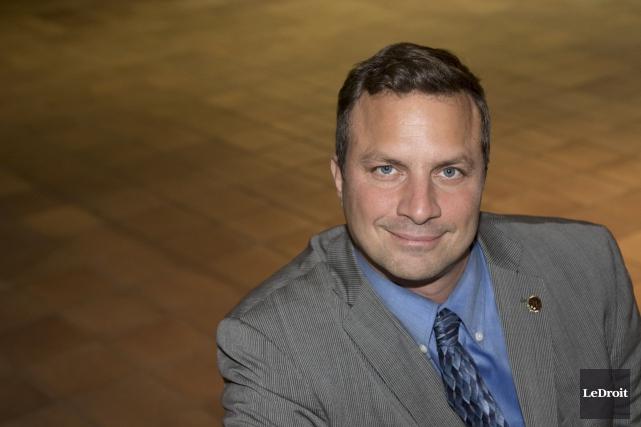 Jean François LeBlanc se présente comme candidat indépendant... (Patrick Woodbury, LeDroit)