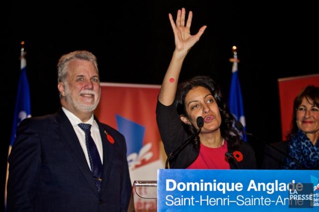 Seule véritable lutte, dans Saint-Henri-Sainte-Anne, la vedette libérale... (PHOTO ANDRÉ PICHETTE, LA PRESSE)