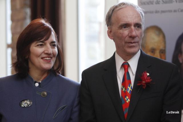 Lea commissaire Christiane Gourde-Bureau, conjointe de l'ex-maire Marc... (Simon Séguin-Bertrand, Archives LeDroit)