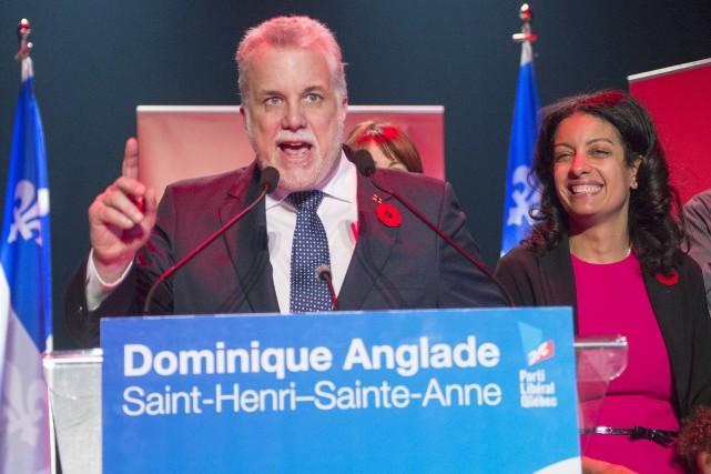 L'ex-caquiste Dominique Anglade (à droite) ayant été élue... (La Presse Canadienne, Ryan Remiorz)
