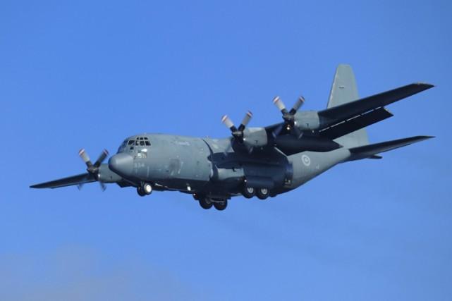 L'armée canadienne a envoyé un avion gros porteur... (ARCHIVES PC)