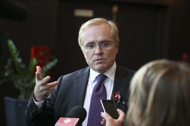 MichaelBinnion, président de l'Association pétrolière et gazière du...