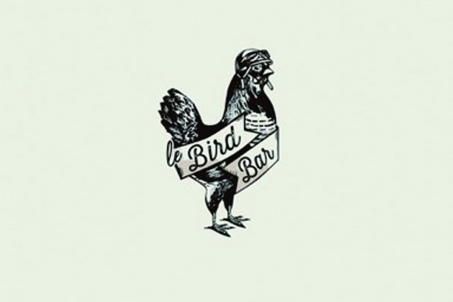 Le logo du Bird Bar, qui offrira du... (IMAGE FOURNIE PAR KIMBERLY LALLOUZ)